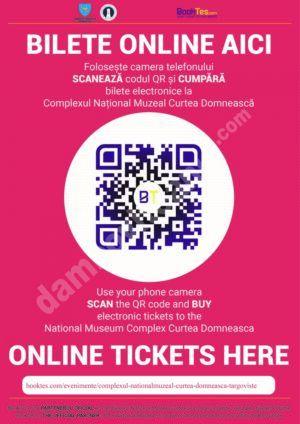 """Descoperă muzeele Complexului Național Muzeal """"Curtea Domnească"""" Târgoviște mai ușor, cumpărând Bilete Online!"""