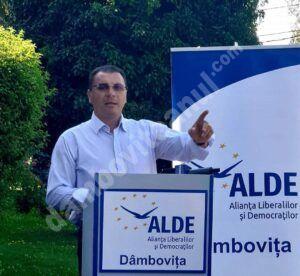ALDE are o nouă conducere. Dâmbovițeanul Ionel Petre a primit unul dintre mandatele de vicepreședinte al partidului