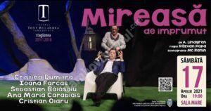 """TÂRGOVIȘTE: Teatrul Municipal """"Tony Bulandra"""" își reia activitatea!"""