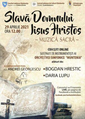 Concert Pascal organizat de Centrul Județean de Cultură Dâmbovița