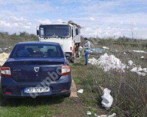 GARDA DE MEDIU DÂMBOVIȚA:  Amendă uriașă pentru aruncarea deșeurilor în natură, la Potlogi!