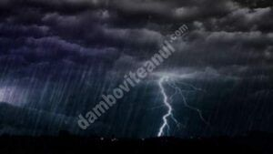 România, sub avertizare meteo de vreme rea