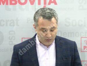"""Costin Cozma, PSD Dâmbovița: """"potrivit doamnei Turcan cadrele medicale sunt plătite mai mult decât merită; e un fel de mulțumim pentru ce ați făcut în perioada de pandemie"""""""