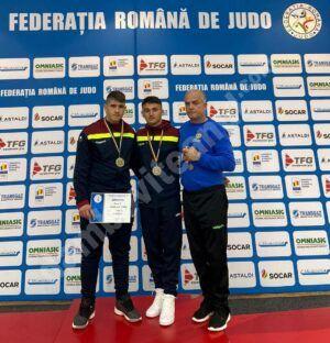 Doi sportivi de la CS Târgoviște, medaliați cu bronz la Campionatul Național  de Judo U18 pe echipe