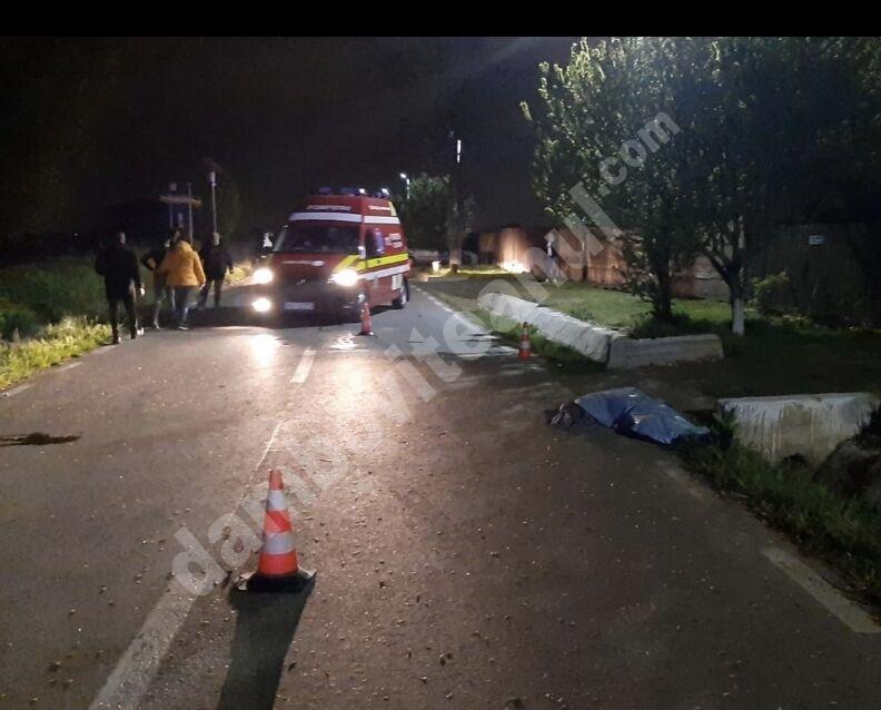 Tragedie la Ciocănești – Dâmbovița! Un bărbat a fost accidentat mortal!