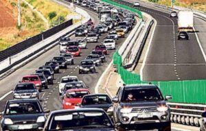 Read more about the article Aglomeraţie pe Autostrada Soarelui, spre litoral