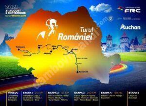 Anul acesta, Turul României la Ciclism trece și prin județul Dâmbovița