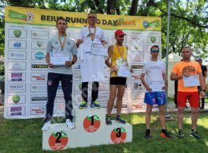 Atletul Cătălin Amuza, de la CS Târgoviște, medaliat cu argint la Campionatul Național de Alergare și Marș 10 km Masters