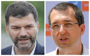 Read more about the article Octavian Berceanu și Vlad Voiculescu se bat astăzi pentru șefia USR-PLUS București