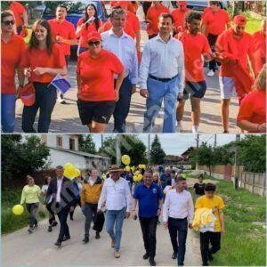 Candidații la primăria Braniștea sunt în plină campanie electorală