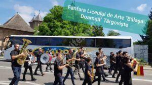 """Unul dintre elevii Liceului """"Bălașa Doamna"""" performează pe marile scene"""