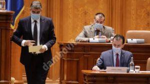 Read more about the article Parlamentarii dezbat și votează, astăzi, moțiunea de cenzură depusă de PSD