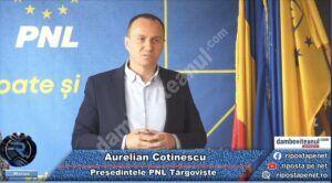 """Aurelian Cotinescu, președintele PNL Târgoviște: """"noi suntem răul absolut, din cauza noastră nu se fac lucrurile"""""""