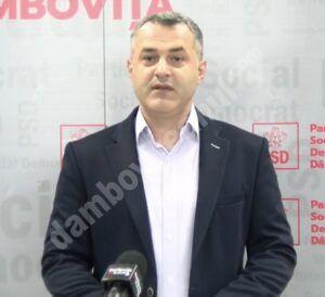 Apel facut de purtătorul de cuvânt al PSD Dâmbovița la autorități