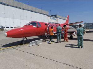 Misiune externă SMURD, pentru salvarea unui pacient cu arsuri