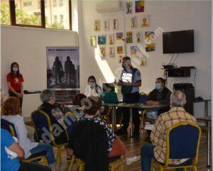 Activitate informativă pentru prevenirea furturilor din locuințe, organizată la Clubul Pensionarilor din  Târgoviște
