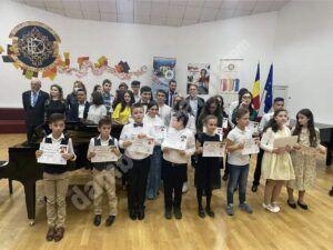 Festivitatea de premiere a laureaților Concursului de Interpretare W. A. Mozart, la Târgoviște