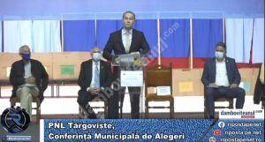 Aurelian Cotinescu a fost reales președinte al PNL Târgoviște