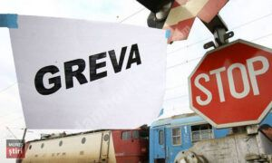 Read more about the article Sindicaliștii din transportul feroviar vor protesta marți în fața Ministerului Transporturilor