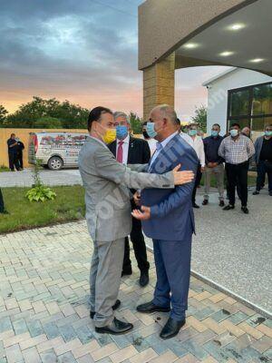 Președintele PNL, Ludovic Orban, a fost în vizită la Cojasca, în această seară