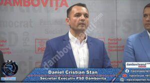 """Read more about the article Primarul Cristian Stan, despre discursul lui Ludovic Orban, în județul Dâmbovița: """"absolut cinic și revoltător"""""""