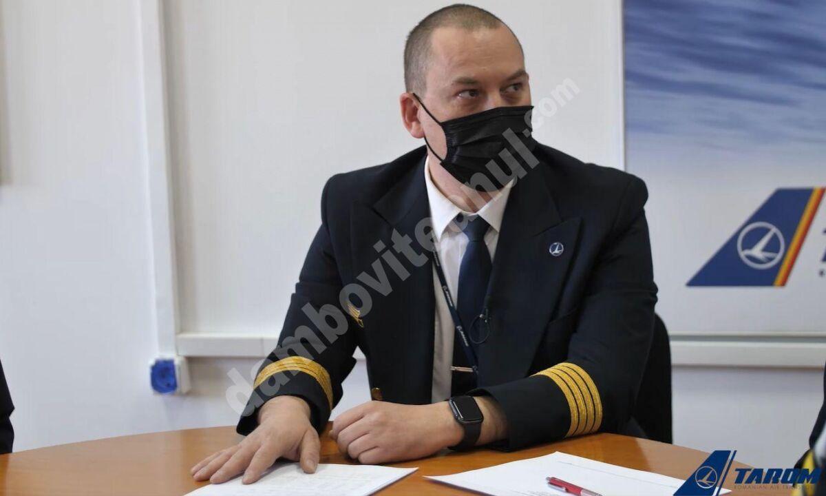 Fiul cosmonautului Dumitru Prunariu preia conducerea companiei TAROM