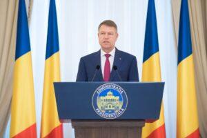 Read more about the article Mesajul președintelui Iohannis, cu ocazia Zilei Drapelului Național