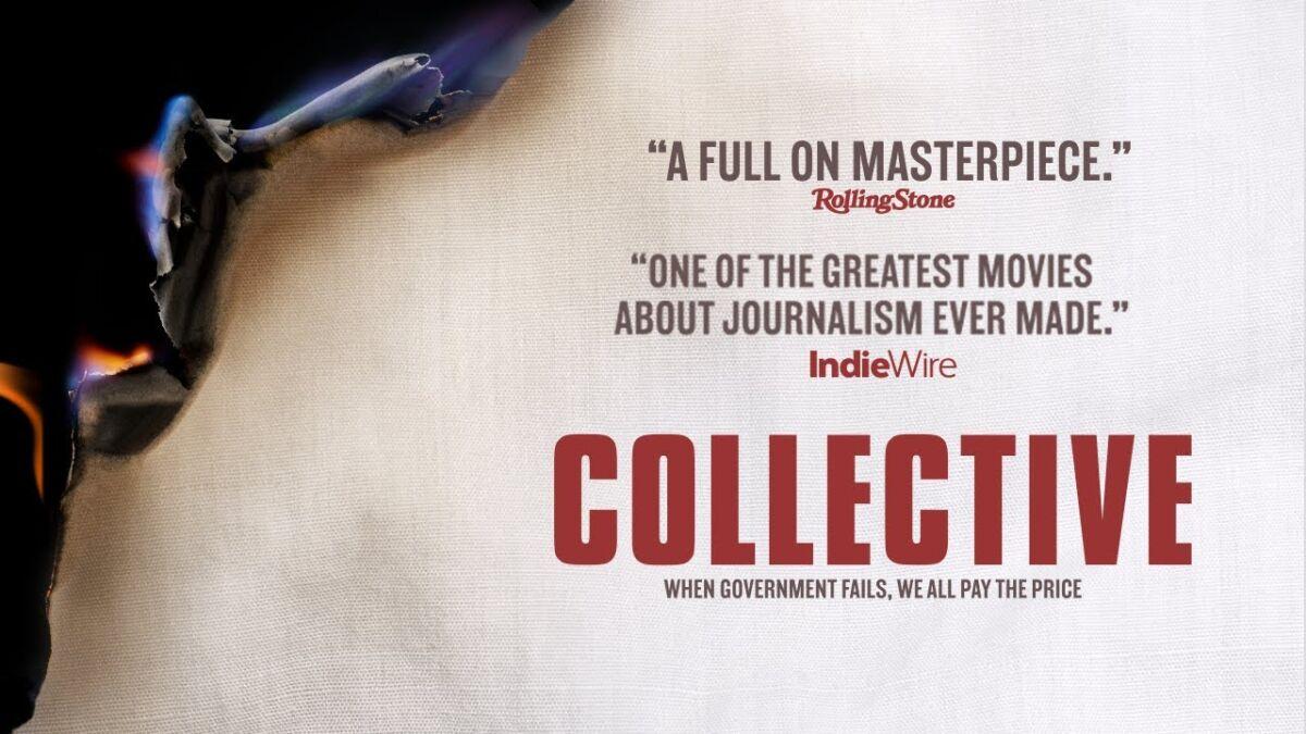 """Documentarul """"Colectiv"""" a câștigat Premiul Publicului LUX, acordat de Parlamentul European și Academia Europeană de Film"""
