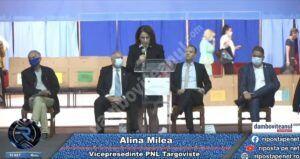 Val de critici al candidatei liberale la șefia PNL Târgoviște, Alina Milea, față de colegii ei de partid