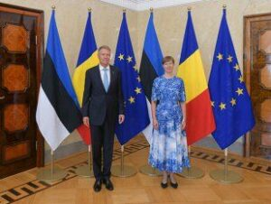 Președintele României, Klaus Iohannis, vizită în Estonia