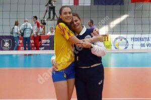 Sezon încărcat pentru Rodica Buterez, voleibalistă la CSM Târgoviște. A participat cu România la Golden League