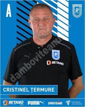 Read more about the article Târgovișteanul Cristinel Țermure, antrenor secund la CS U Craiova