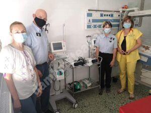 Read more about the article Donație substanțială, pentru nou născuții prematuri din județul Dâmbovița