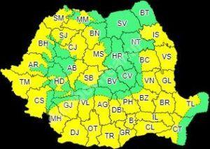 Read more about the article METEO 27 – 31 IULIE: COD GALBEN DE CANICULĂ ÎN JUDEȚUL DÂMBOVIȚA!