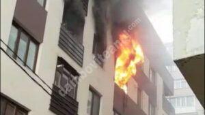 Read more about the article 30 de persoane au fost evacuate, în urma unui incendiu produs la un bloc din Capitală