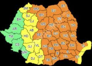 Read more about the article Dâmbovița, din nou sub COD PORTOCALIU de vijelii, grindină și vreme instabilă!