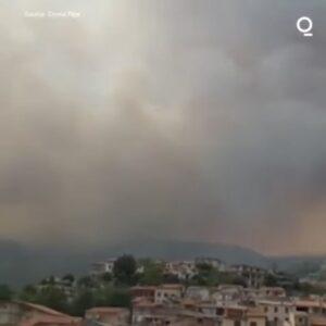 Read more about the article Regiunea Sardinia, Italia,  devastată de incendii puternice