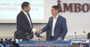 Read more about the article Reprezentanții a 14 comune dâmbovițene care vor realiza proiecte în colaborare cu CJD, au semnat, astăzi, contractele de asociere