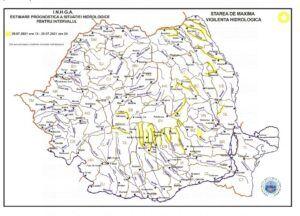 Read more about the article Atenționări hidrologice pentru mai multe râuri din țară!