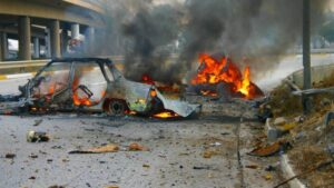 Read more about the article Atac cu bombă la Bagdad soldat cu mai mulți morți și răniți