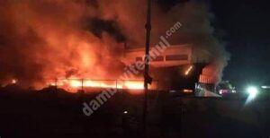 Read more about the article Peste 50 de pacienți au murit, într-un incendiu puternic, la un spital COVID din Irak
