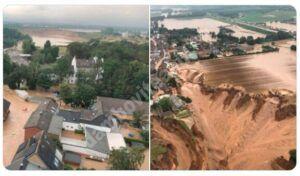 Read more about the article Inundațiile din Europa au făcut peste 170 de victime, iar sute de persoane sunt date dispărute