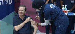 Read more about the article Președintele Israelului s-a vaccinat cu cea de-a treia doză de vaccin împotriva COVID-19