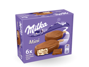 Read more about the article Patru tipuri de înghețată Milka, retrase de pe piața din România, din cauza prezenței peste limitele legale a oxidului de etilenă