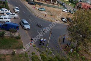 Read more about the article Accident rutier în municipul Târgoviște! Traficul rutier este afectat!